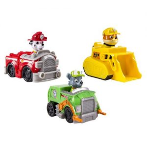 Paw-Patrol-Racers-Team-Pack-Marshall-Rubble-Rocky-Set-3-Mini-Vehculos-al-Rescate-La-Patrulla-Canina-0