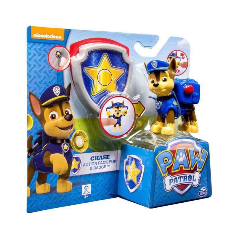 Figura muneco chase juguetes patrulla canina - Munecos patrulla canina ...