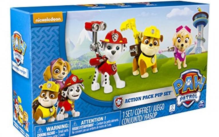 Pack figuras marshall rubble y skye juguetes patrulla - Munecos patrulla canina ...