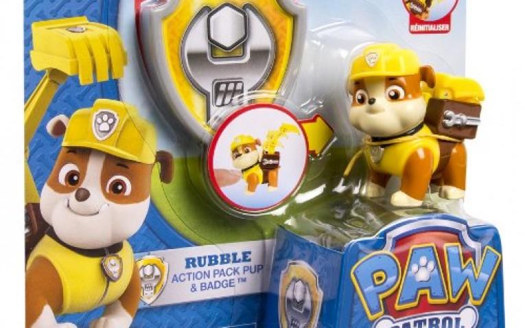 Comprar figura mu eco de rubble - Munecos patrulla canina ...