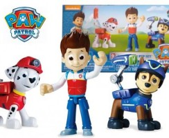 Pack figuras Ryder, Chase y Marshall