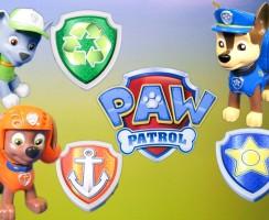 Set con los muñecos: Chase, Rocky y Zuma