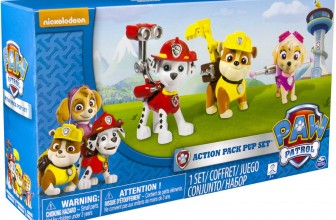 Pack figuras – Marshall, Rubble y Skye