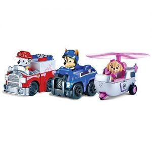 SKYE-CHASE-MARSHALL-Rescue-RACERS-Box-SET-3-Vehculos-PAW-PATROL-Patrolla-Nickelodeon-0