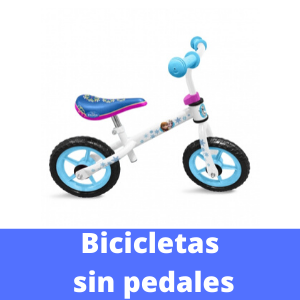 bicicletas sin pedales patrulla canina