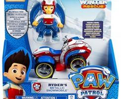 Ryder y su moto de nieve