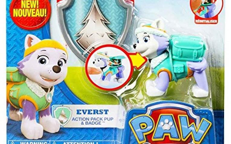 Figura everest pack de acci n juguetes patrulla canina - Munecos patrulla canina ...