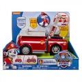 Marshall y su camión de bomberos