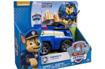 Chase y su coche polícia