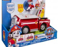Camión de bomberos de la Patrulla Canina